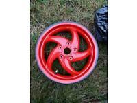 Gilera runner rear wheel
