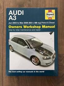 Audi A3 Owners Workshop Manuel