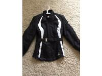 Ladies biker jacket size M Frank Thomas