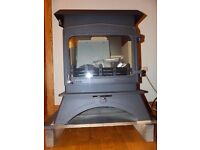Woodwarm Woodwarm Wildwood 5KW woodburning cleanburn stove. New. DEFRA approved, airwash. 10 yr guar