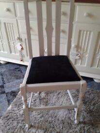 Shabby Chic Chair hallway, bedroom, office etc