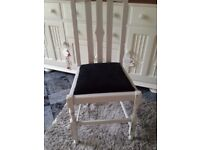 Shabby Chic Chair hallway, bedroom, spare chair for Xmas?