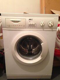 HEC 1050W White Washing Machine (£45)