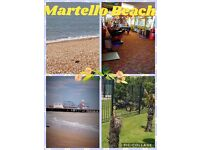 Martello beach sale on for may and Aug.
