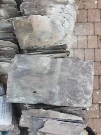 Slates- reclaimed and in good condition.
