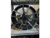 "19"" alloy wheels alloys rims tyres fits Vw Volkswagen seat Skoda Audi Mercedes c e s class"