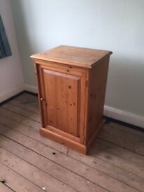 Pine Storage Cupboard With a Few Quirks