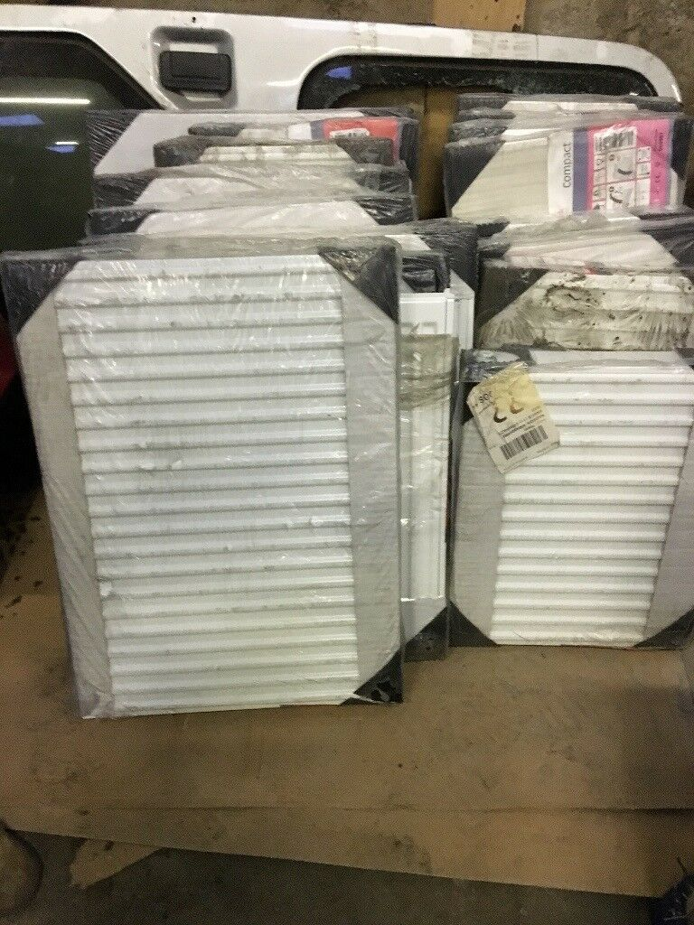 radson radiators job lot new in wrappers itro 150 in total in