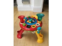 ELC light and sounds table