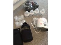 Tommee tippee bundle bottles bottle warmer milk dispensers, insulated case