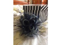 Delicate blue fascinator