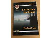 Used (Good Condition) - CGP GCSE A View from the Bridge text guide