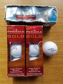 9 Brand Brand New Golf Balls
