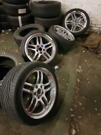 19 inch BMW M parallel wheels deep dish 5x120