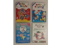 (Reduced Price) The Ultimate Babies' Educational DVDs Set. £5.00 Kennington SE11 London