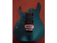 banez RG loaded body with humbucker and singlecoil pickups great for guitar project left handed