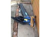 Challenge extreme heavy duty garden vac/blower