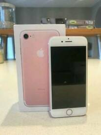 iPhone 7 128GB Rose Gold with Apple Warranty