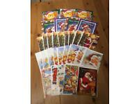 Children's Christmas Cards x 30