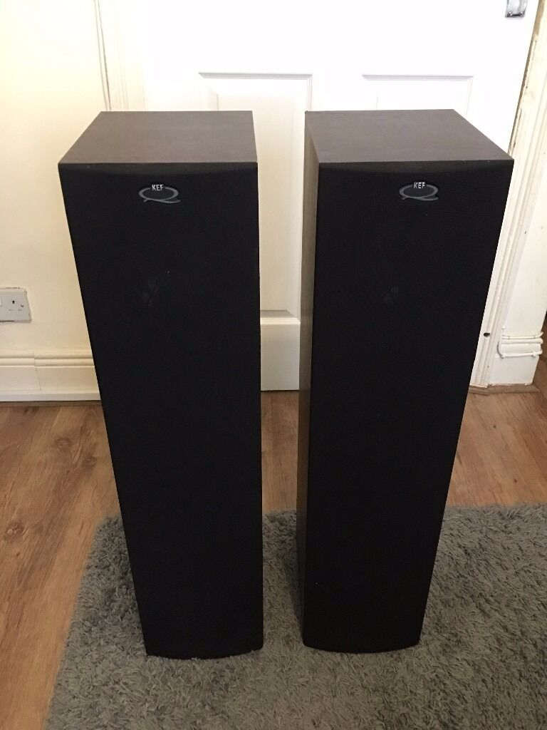 Kef Q55 Uni Q Floorstanding Speakers In Gateshead Tyne