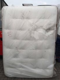 Mattress. Shire Beds, Shire tuft double mattress, 4.6ft New slightly marked