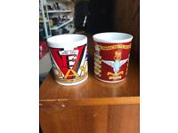 Two army cups