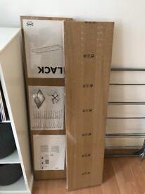 Lack Oak Effect 110cm Shelves