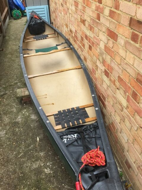 Old Town Penobscot 174 Canadian Canoe, Green, VGC | in Richmond, London |  Gumtree
