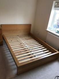 Free delivery Ikea Malm Double Bed