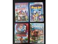 Children's DVDs £2 each Smurfs, Gnomeo & Juliet, The Croods