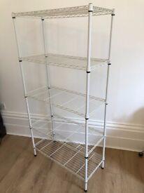 Metal Shelving Rack / Free standing wire shelves