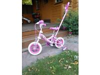 My little pony bike with parent handle