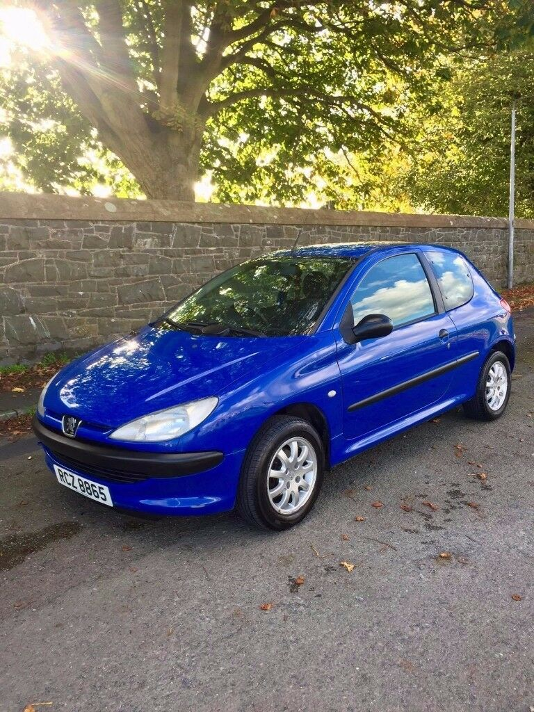 ***2003 peugeot 206 1.1*** This wee 206 is mot'd until mid march 2018, Located in newtownards bt23