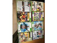 Xbox 360 Games with an option of console only