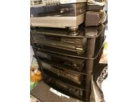 Technics 5 disk cd player p687
