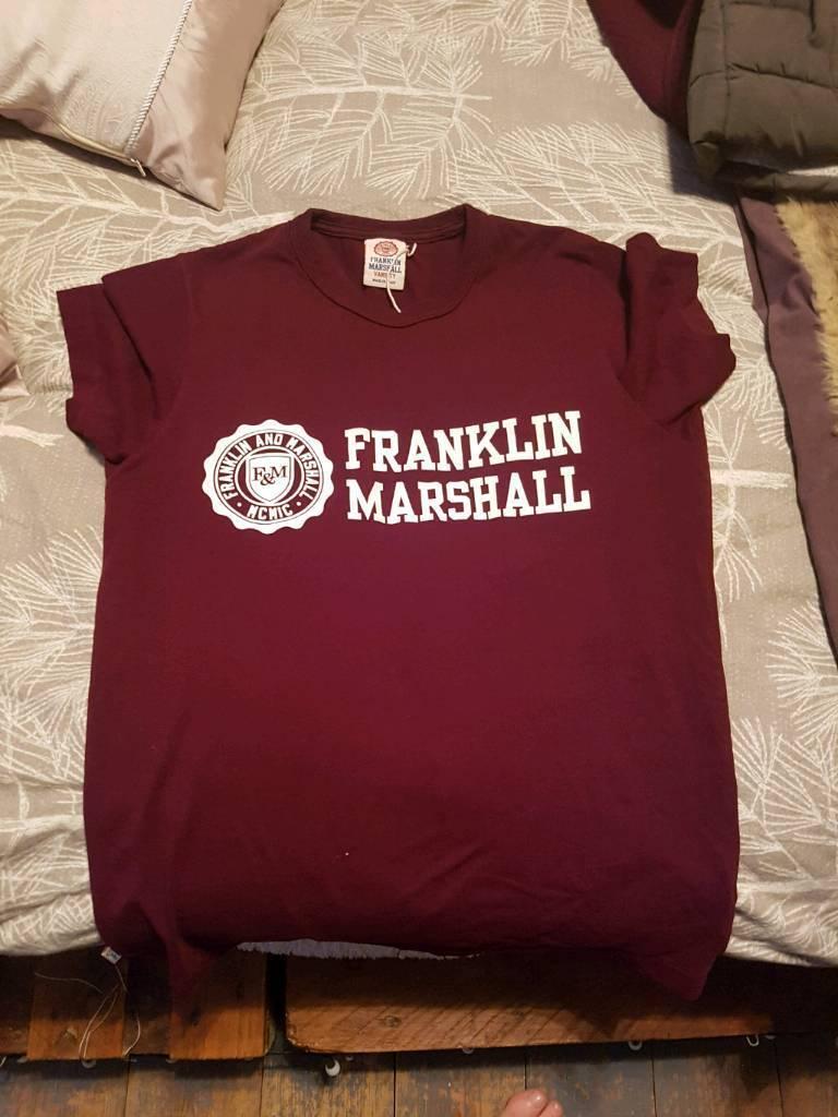 Franklin and Marshall t shirt