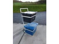Kirby bins holder on wheels galvanised to last a lifetime time