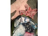 Job lot 0-3months and 3-6 months baby girl clothes