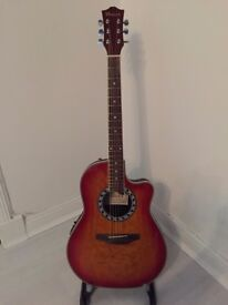 Wesley Electro Acoustic Bowlback Guitar