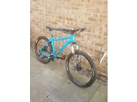Voodoo hardtail 2017 for sale or swap for full sus £300 Brilliant condition