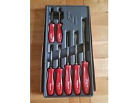 NEW SNAP ON SCREWDRIVER SET.