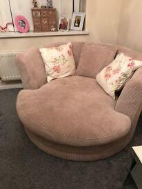Love snug swivel cosy sofa