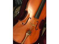 3/4 size cello