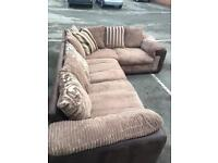 Beautiful Dfs corner sofa delivery avail