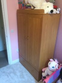 Wardrobe and Cot/Bed