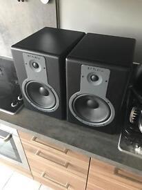 BX8A Powered Studio Monitors