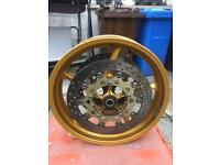 Yamaha r1 04 To 06 Gold wheels 5vy model
