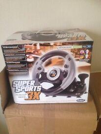 super sports steering wheel