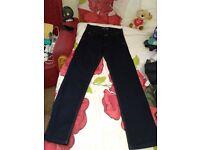 Louis Vuitton designer men's jeans size 34