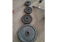 selling weights for the gym